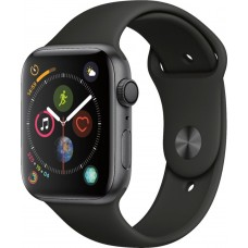 Apple Watch Series 4 Black Sport Band Space Grey