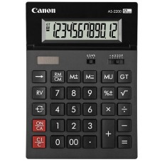 Calculator Canon AS-2200 Black