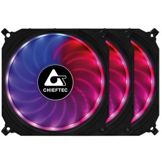 120mm Case Fan - Chieftec CF-3012-RGB TORNADO