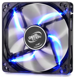 120mm Case Fan - DEEPCOOL WIND BLADE 120 Black