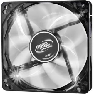 120mm Case Fan - DEEPCOOL WIND BLADE 120 WHITE Black