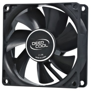 80mm Case Fan - DEEPCOOL XFAN 80 Black