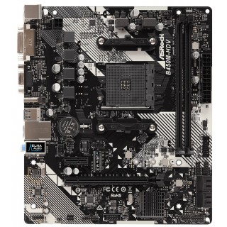 ASRock B450M-HDV R4.0, Socket AM4
