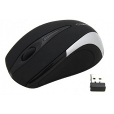 Esperanza EM101S Wireless Black/Silver
