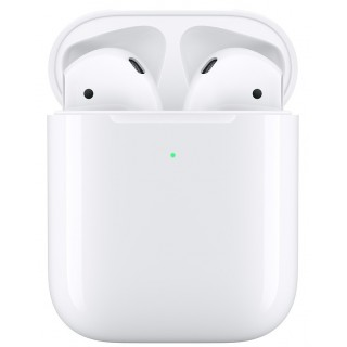 Apple AirPods 2 + Wireless Charging White