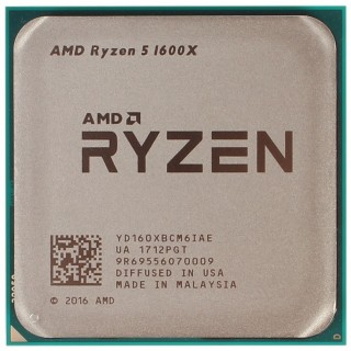 AMD Ryzen 5 1600X Socket AM4