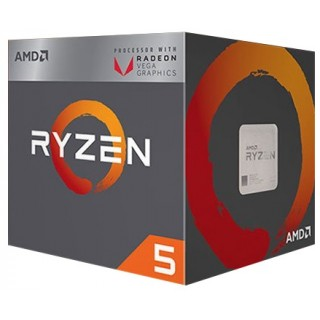 AMD Ryzen 5 2400G, Socket AM4, BOX