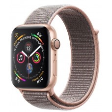 Apple Watch Series 4 Pink Sand Sport Loop Band 40mm Gold