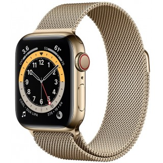 Apple Watch Series 6 GPS + Cellular 40mm Gold M06W3