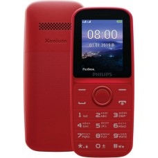 Philips E109 Dual Sim Red