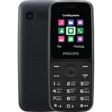Philips E125 Dual Sim Black
