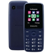 Philips E125 Dual Sim Blue