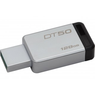 128GB USB3.1 Kingston DataTraveler 50  Silver/Black