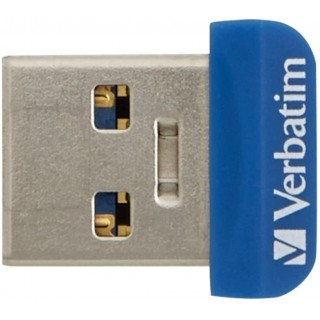 32GB USB3.0 Verbatim Store 'n' Stay NANO Blue
