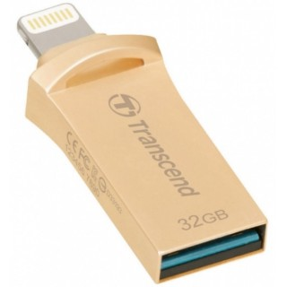 32GB USB3.1 Transcend JetDive Go 500 Gold