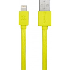 Lightning 1.0m XtremeMac Flat Cable Yellow