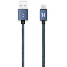 Lightning 1.2m XtremeMac Denim Jean Cable Blue