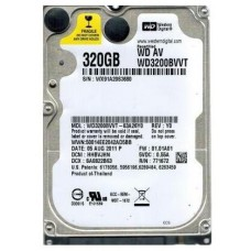 2.5 HDD 320GB Western Digital WD3200BVVT AV