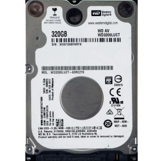 2.5 HDD 320GB Western Digital WD3200LUCT