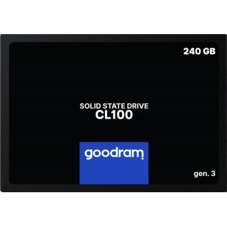 2.5 SSD 240GB GOODRAM CL100 Gen.3