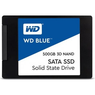 2.5 SSD 500GB  Western Digital WDS500G2B0A  Blue 3D