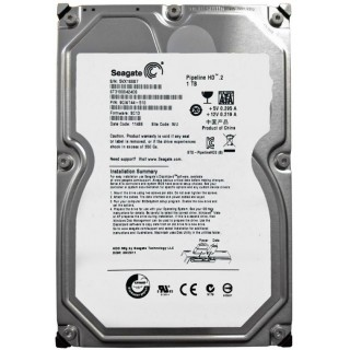 3.5 HDD 1.0TB Seagate ST31000424CS Pipeline HD™