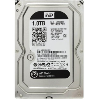 3.5 HDD 1.0TB Western Digital WD1003FZEX Caviar® Black™