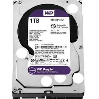 3.5 HDD 1.0TB  Western Digital WD10PURZ Caviar Purple