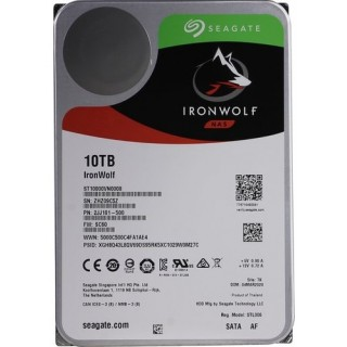 3.5 HDD 10.0TB Seagate ST10000VN0008  IronWolf™ NAS