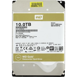 3.5 HDD 10.0TB Western Digital Gold Enterprise Class