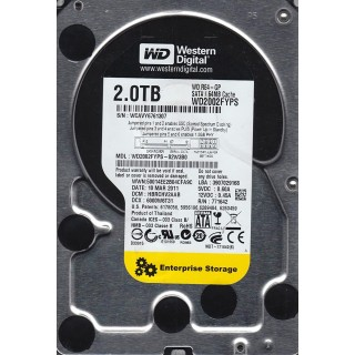 3.5 HDD 2.0TB Western Digital WD2002FYPS RE4-GP