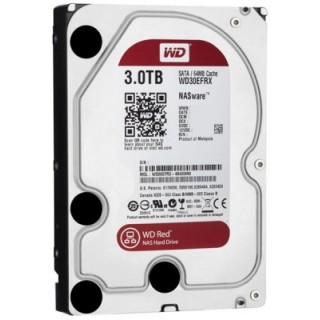 3.5 HDD 3.0TB Western Digital WD30EFRX Caviar Red