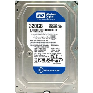 3.5 HDD 320GB Western Digital WD3200AAJS Caviar® Blue™