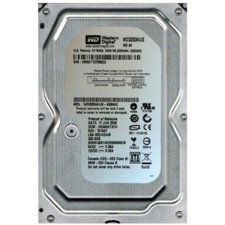 3.5 HDD 320GB Western Digital WD3200AVJS