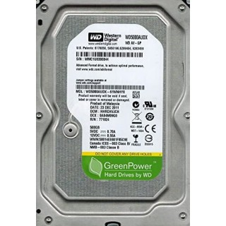 3.5 HDD 500GB Western Digital WD5000AUDX AV-GP™