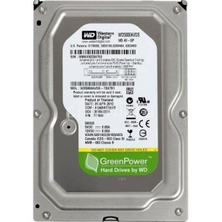 3.5 HDD 500GB Western Digital WD5000AVDS