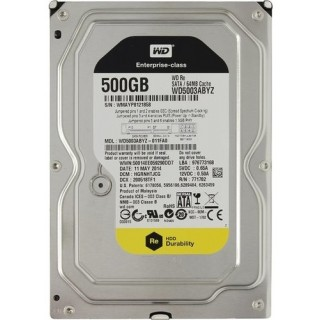 3.5 HDD 500GB Western Digital WD5003ABYZ Enterprise-Class RE4™