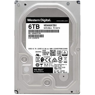 3.5 HDD 6.0TB Western Digital WD6003FZBX Caviar® Black™