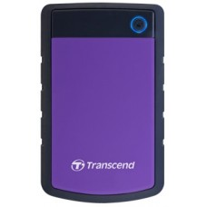 Transcend StoreJet 25H3P 2TB Purple/Black