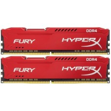16GB (Kit of 2*8GB) DDR4-2666 Kingston HyperX® FURY CL16