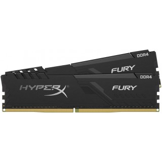 8GB (Kit of 2*4GB) DDR4-2666 Kingston HyperX® FURY CL16