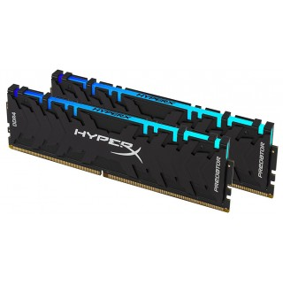 16GB (Kit of 2*8GB) DDR4-3000 Kingston HyperX® Predator RGB, CL15