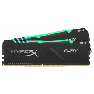 16GB (Kit of 2*8GB) DDR4-3600 Kingston HyperX® FURY (2020) RGB CL17