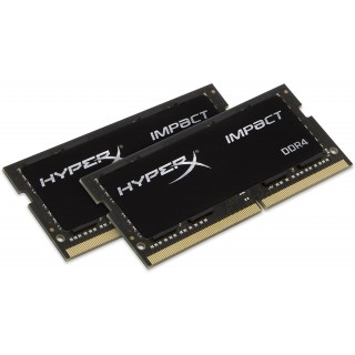 16GB (Kit of 2*8GB) DDR4-3200 SODIMM Kingston HyperX® Impact CL20
