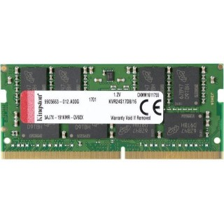 16GB DDR4-2666 SODIMM  Kingston ValueRam CL19