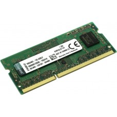4GB DDR3-1600 SODIMM  Kingston ValueRam, PC12800, CL11