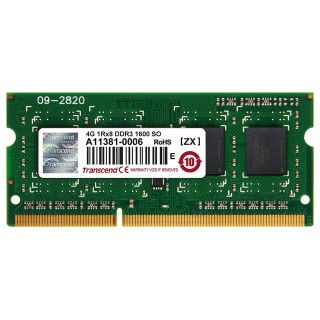 4GB DDR3-1600 SODIMM Transcend CL11