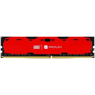 4GB DDR4-2400  GOODRAM Iridium CL15 Aluminum RED