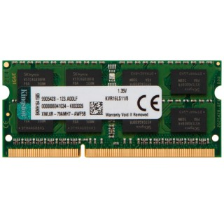 8GB DDR3-1600 SODIMM Kingston ValueRam, CL11