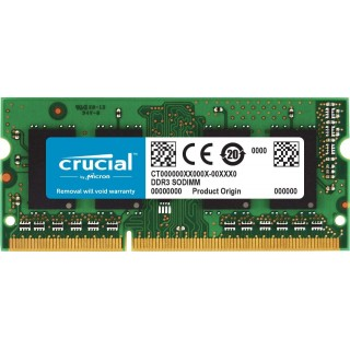 8GB DDR3-1866 SODIMM Crucial CL13